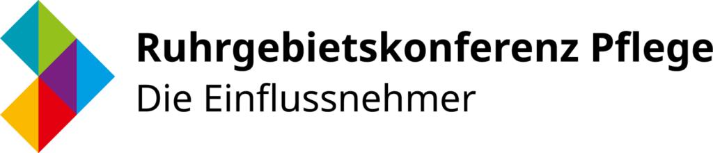 Logo Ruhrgebietskonferenz Pflege